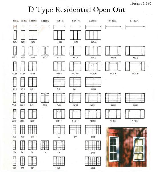 Steel Window Frames Catalogue