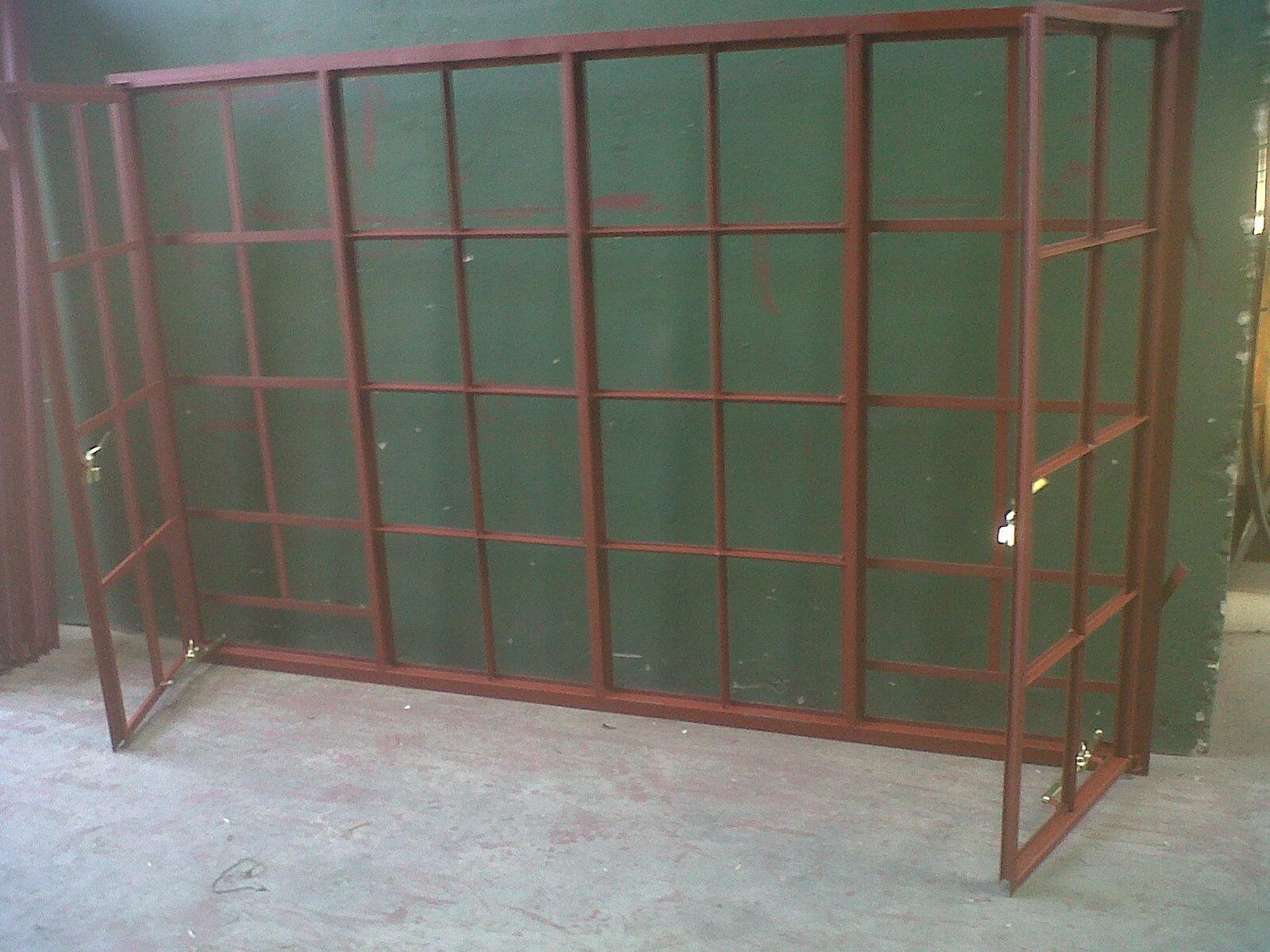 1200 #664B3E D22 Cottage Pane C/w B1 Burglar Bars image Residential Steel Doors And Frames 47631600